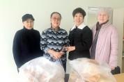 나블리 베이커리 카페, 국악신문, 나눔성형외과의원. 설날 동포애 사할린 동포들과 나누다